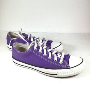 Converse Chuck Taylor All Star Purple Shoe M7/W9